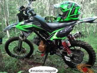 Kumpulan modifikasi trail odong-odong basis mesin Honda Supra X 125 brosis (2)