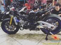 Modifikasi Yamaha MX King 150 spek hedon alias limbah moge punya sultan (5)