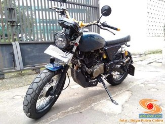 motor custom basis mesin Bajaj Pulsar 220 (6)