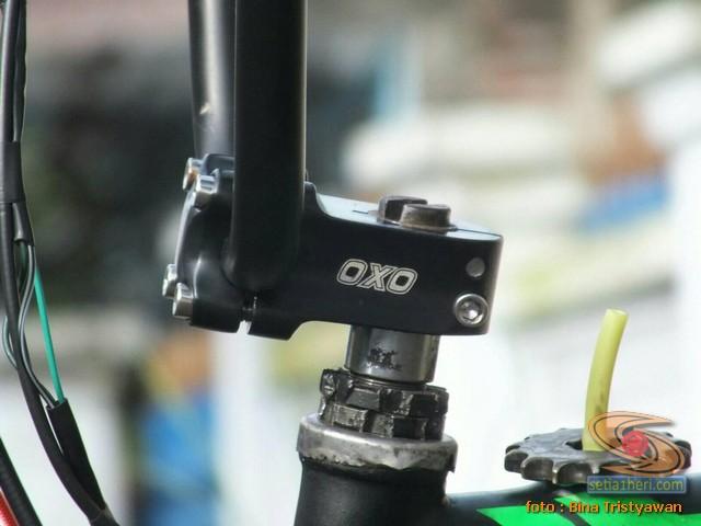 BMX Moto, Modifikasi mini trail odong-odong rangka BMX mesin Yamaha Crypton asal Malang Jawa Timur (7)