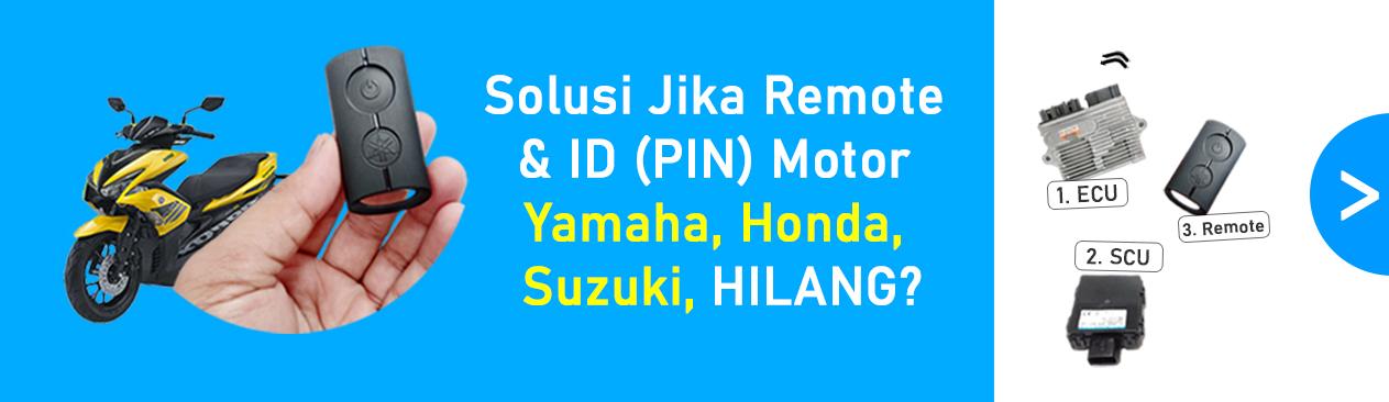 Remote sepeda motor hilang? ini solusinya brosis.