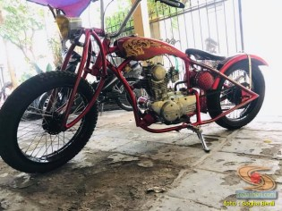 Custom Bike basis Kawasaki Binter Merzy 200 asal Kediri (1)