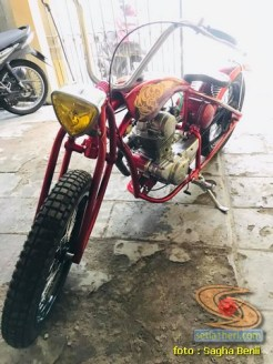 Custom Bike basis Kawasaki Binter Merzy 200 asal Kediri (3)