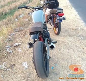 Honda Tiger modif Jap Style atau Scrambler (2)