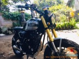Kumpulan foto modifikasi Yamaha Scorpio menjadi scrambler atau japstyle (12)