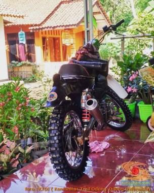 Honda C70 modif trail odong-odong alias bebek trail GTX (5)