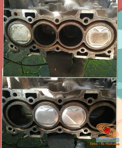 Membersihkan radiator mobil pakai Sitrun, amankah (1)