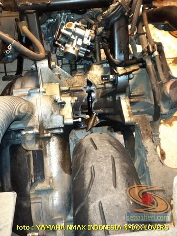 Mesin Yamaha Nmax ini alami pecah pasca terjang banjir, berikut solusinya brosis (1)