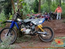 Modifikasi trail GTX bebek basis mesin Yamaha Vega tahun 2020 (16)