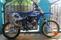 Modifikasi trail GTX bebek basis mesin Yamaha Vega tahun 2020 (37)