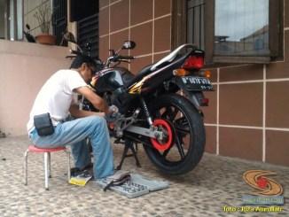 Panduan Pemeriksaan Sepeda Motor (T-CLOCS) bagi biker oleh riza amrullah