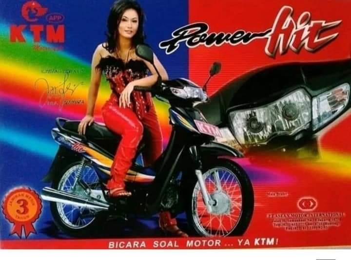 iklan mocin jadul di Indonesia (1) KTM Inul