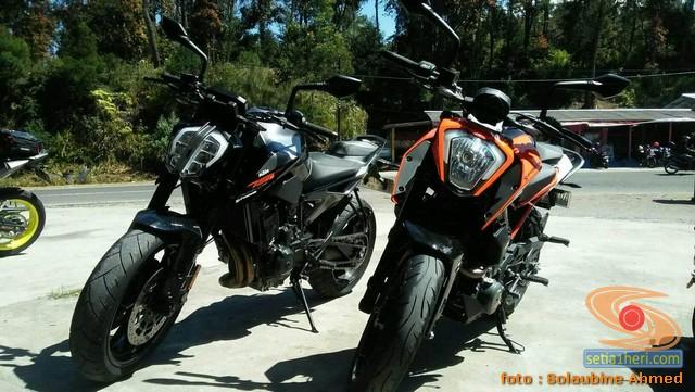 KTM Duke 790 dan KTM Duke 250