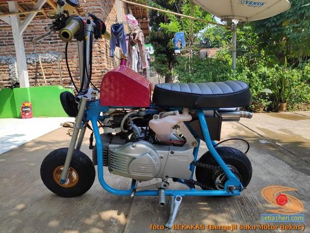 motor 2 tak bebek dan matic