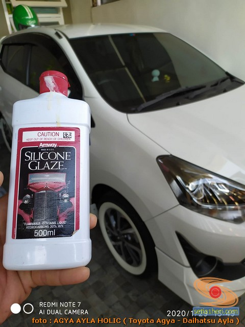 Silicone gaze untuk merawat dan memoles mobil biar kinclong (2)