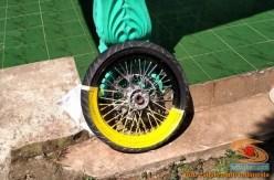 Cara repaint velg sepeda motor dengan baik dan benar bagi pemula.. (10)