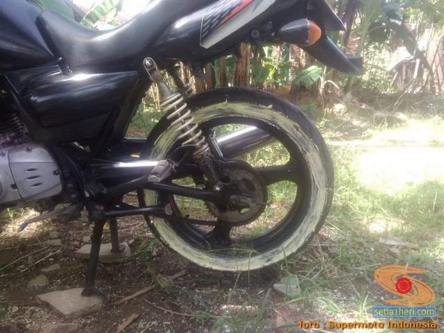 Cara repaint velg sepeda motor dengan baik dan benar bagi pemula.. dengan sabun colek