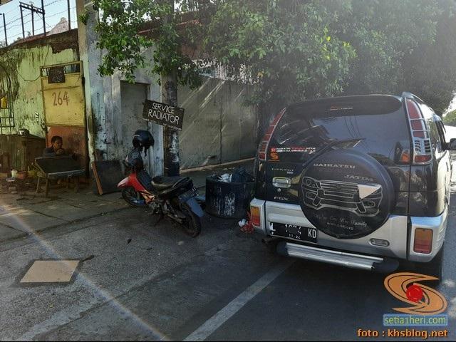 Mbah Tarno overheat alias demam panas lagi di Kenjeran Surabaya tahun 2020 (1)