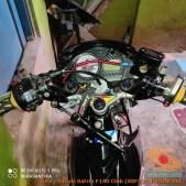 Modifikasi suzuki satria fu pakai stabilizer atau steering dumper brosis (8)