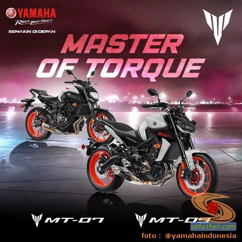 Moge Yamaha MT-07 dan Yamaha MT-09 tahun 2020 resmi mengaspal di Indonesia