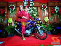 Motor-motor vijar yang jadi saksi di pelaminan dan pernikahan (12)
