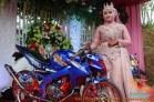 Motor-motor vijar yang jadi saksi di pelaminan dan pernikahan (5)