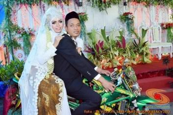 Motor-motor vijar yang jadi saksi di pelaminan dan pernikahan (7)
