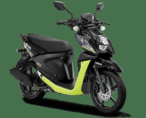 3 Pilihan Warna Baru Yamaha X-Ride 125 tahun 2020 yakni extreme black