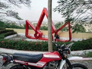 Modifikasi Honda Tiger pakai bodi motor Honda Win brosis (1)