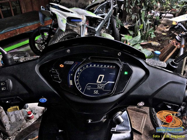 Wow modif speedometer Honda Supra X 125 pakai Honda CBR250RR