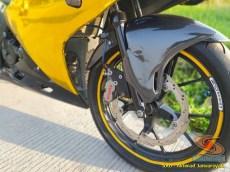 Modifikasi hedon Suzuki GSX-R 150 warna emas istimewa asal Bekasi (9)