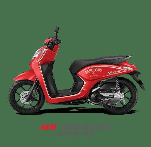 Pilihan Warna dan stripping baru Honda Genio tahun 2020 (4)