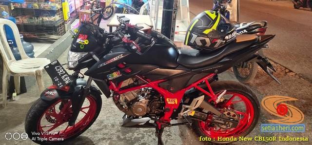 Plus minus pasang stabilizer rantai di Honda CB150R