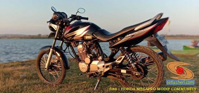 Spatbor atau spakbor depan alternatif Honda Megapro yang PNP (2)