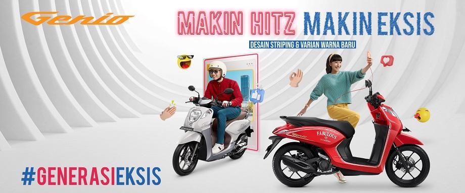 Warna dan stripping baru Honda Genio tahun 2020 (1)