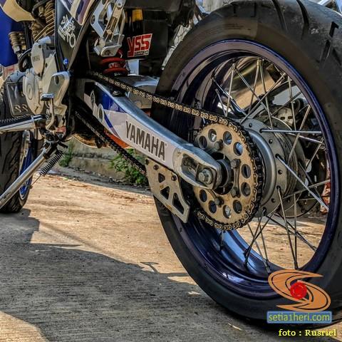Yamaha Scorpio Tahun 2007 Modif Steko supermoto asal Sukabumi (4)