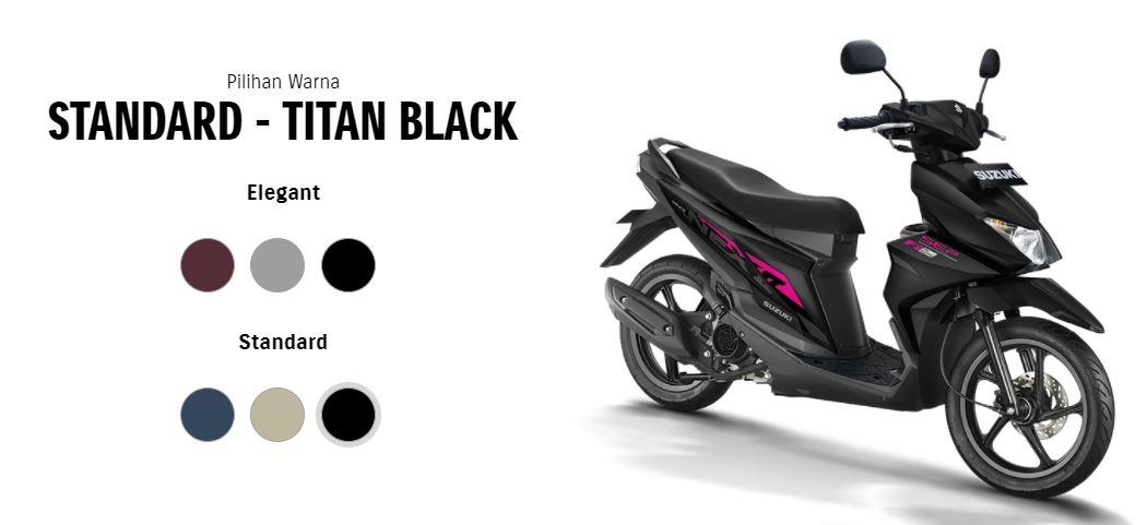4 pilihan warna baru Suzuki NEX II tahun 2020