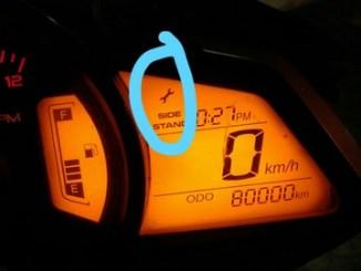 Cara menghilangkan simbol kunci pas pada Pulsar 200 NS