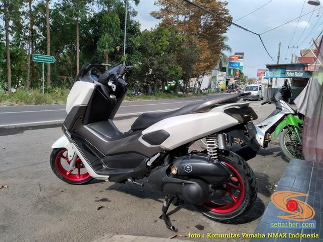 Ragam modifikasi potong spatbor belakang Yamaha Nmax tahun 2020 (6)