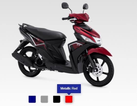 daftar warna baru yamaha mio m3 tahun 2020