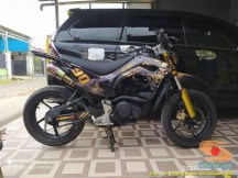 Modif Yamaha Byson 2020 jadi motor trail atau supermoto, kece abisss brosis (7)