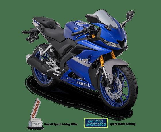 Pilihan warna baru Yamaha R15 2021, warna velg keren. (2)