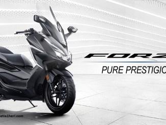 Honda Forza tahun 2021, desain baru dan lebih mewah prestisius brosis (1)