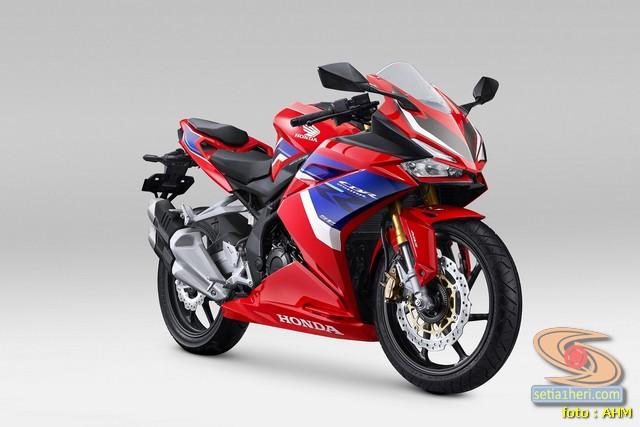 Honda _CBR250RR tahun 2021 warna tricolor