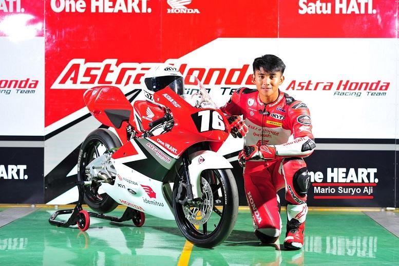 Mario Suryo Aji,Berlaga CEV Moto3 Junior World Championship 2021