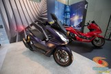 Modifikasi All new Honda PCX 160 tahun 2021 rasa spoty big scooter (1)