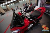 Modifikasi All new Honda PCX 160 tahun 2021 rasa spoty big scooter (3)