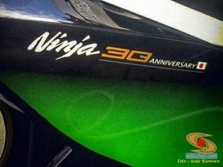 Penampakan Kawasaki Ninja 150 RR 30th Anniversary Edition, motor ninja 2 tak edisi spesial gans