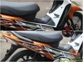 Restorasi Honda Supra X 125 PGM-Fi Tahun 2005 warna langka gans.. (11)