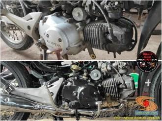 Restorasi Honda Supra X 125 tahun 2006, jadi kinclong dan menawan gans (12)